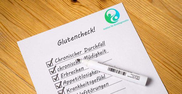 Glutenintoleranz Symptome